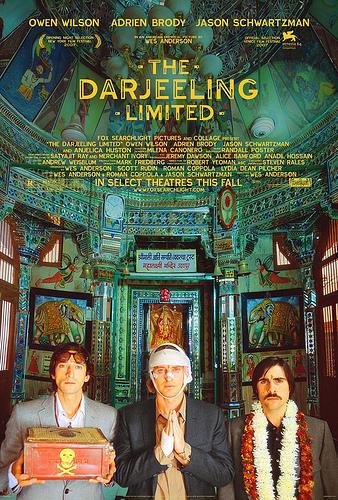 Cartel de The Darjeeling Limited